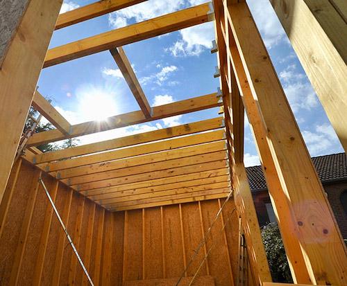 kit extension en bois et dépendance en bois