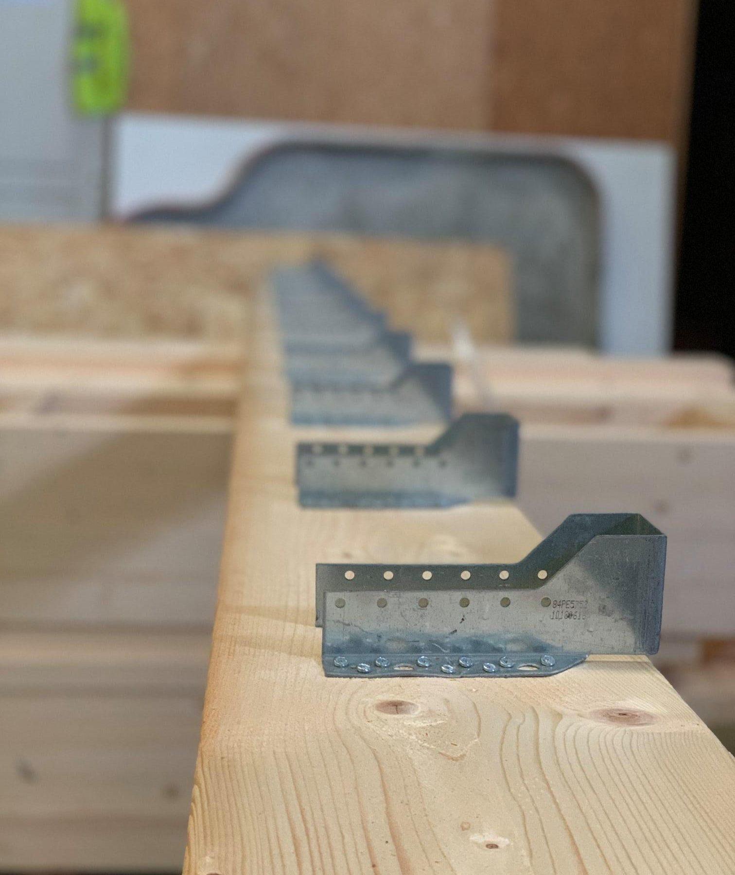 Préparation du kit pour l extension ou la dépendance en bois