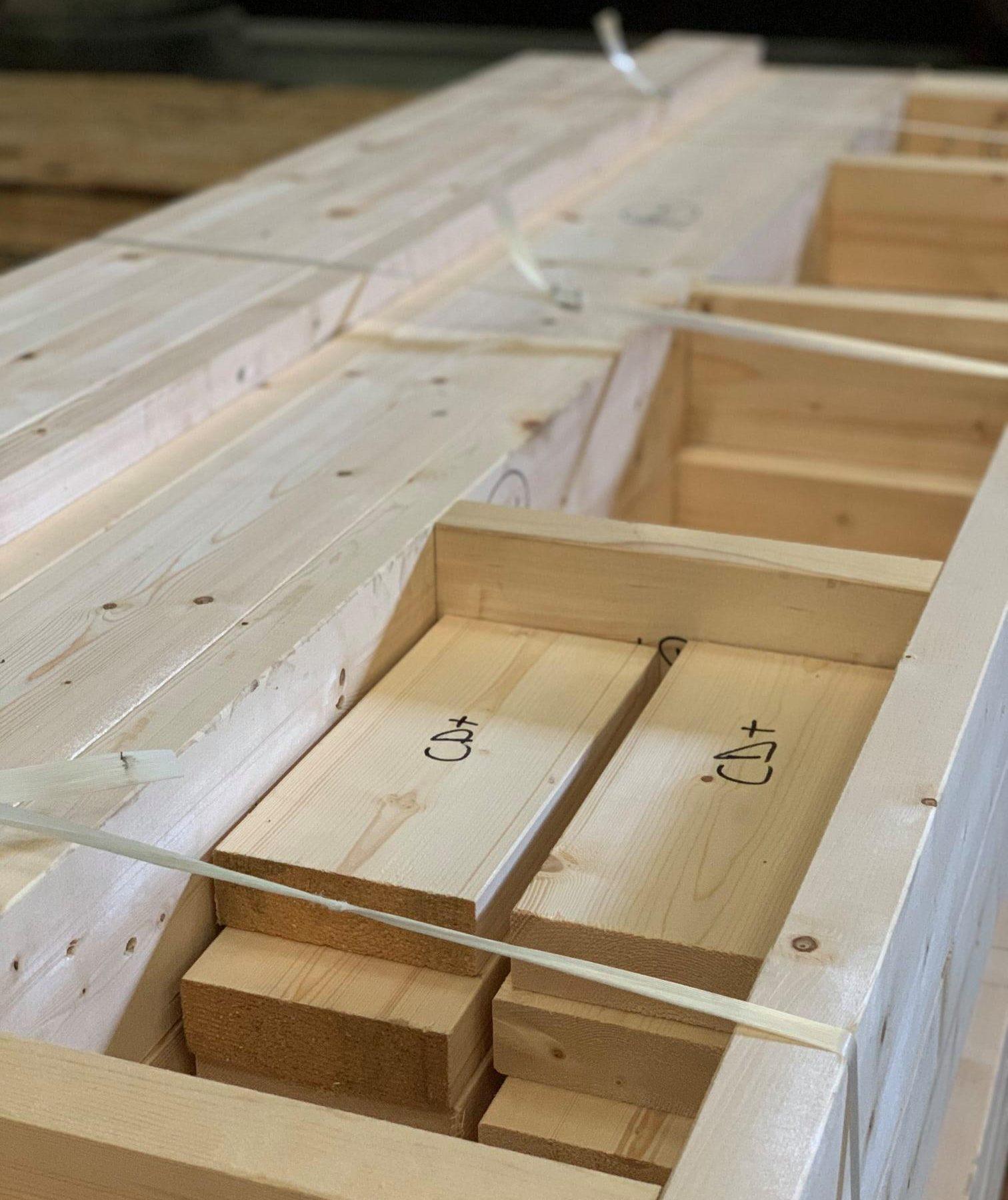 préparation extension en ossature bois
