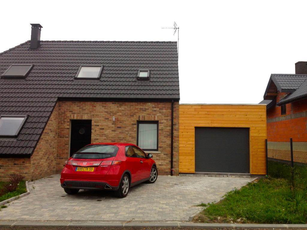 kit pour garage en bois