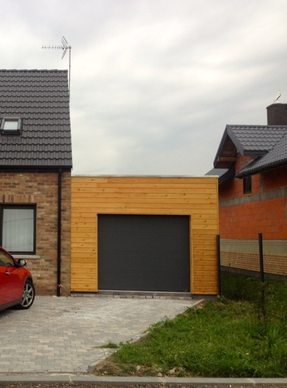 kit garage en bois